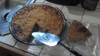Impossibly Easy Bacon Pie - recipe from the Betty Crocker Kitchens
