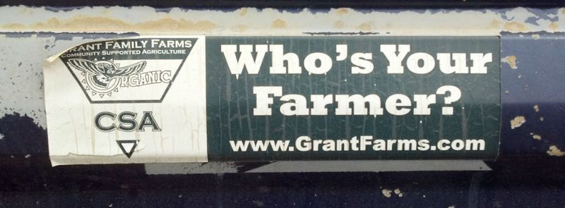 Grant farm bumper sticker - photo by Karin Livingston