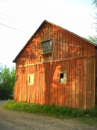 Old red barn - Poudre River Stables - original farm - Father of Fort Collins - Joseph Mason