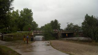 Poudre River - Shields Street Bridge