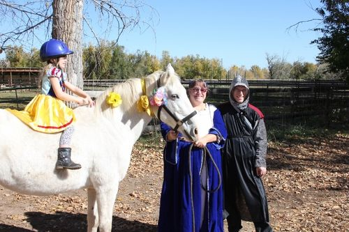 Snow white - Halloween - Poudre River Stables - Fort Collins - Colorado - 80521