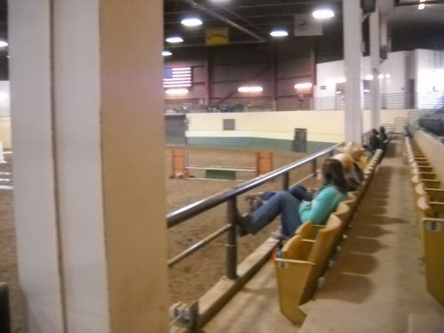 CSU fall schooling show - the jump they all hated.