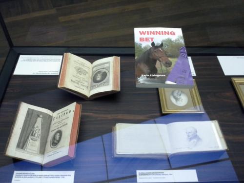 Winning Bet at the Anton Graff exhibit, Alte Nationalgalerie, Berlin, Germany.