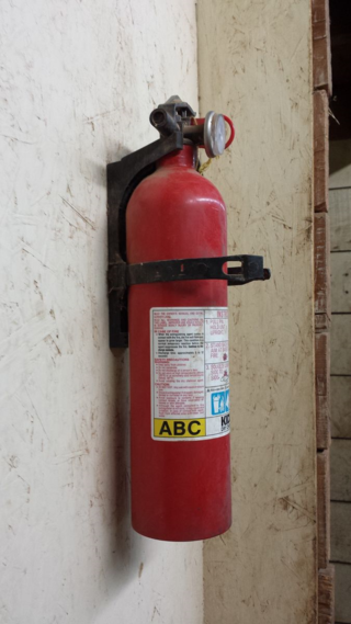 Barn fire extinguisher - Poudre River Stables - Fort Collins - Colorado - 80521