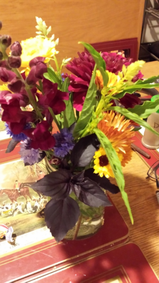 Edible bouquet - flower farm - Poudre River Stables - Fort Collins - Colorado - 80521