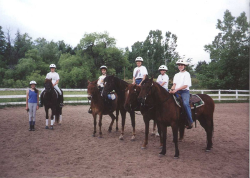 4H mounted meeting - Poudre River Stables - Fort Collins - Colorado - 80521